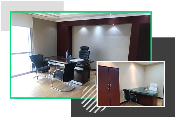 serviced office space dubai